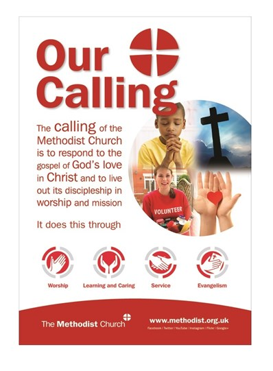 """A poster with the text of """"Our Calling"""""""